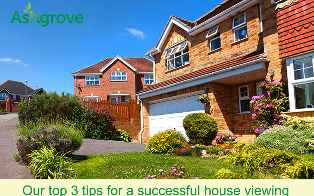 Our top 3 tips for a successful house viewing